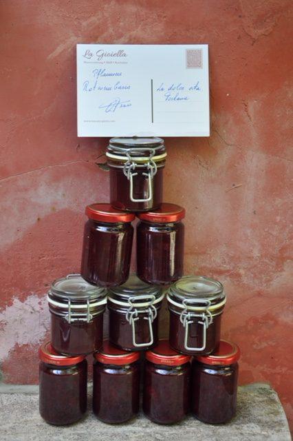 Pflaumen-Rotwein Basis