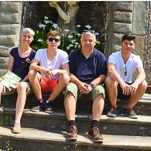 Familie Zeppelzauer, Mai 2016