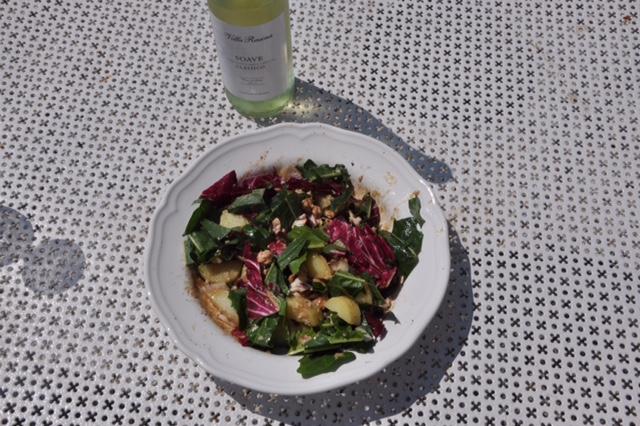 Salat mit Kartoffel und Thunfisch