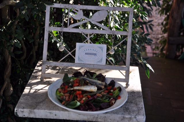 Sardinen-Bohnen-Salat
