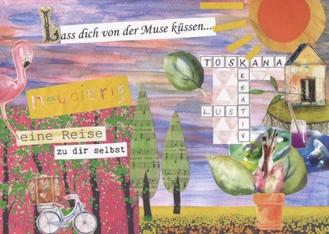Lass Dich von der Muse küssen: Malworkshop 11.-14.06.2020